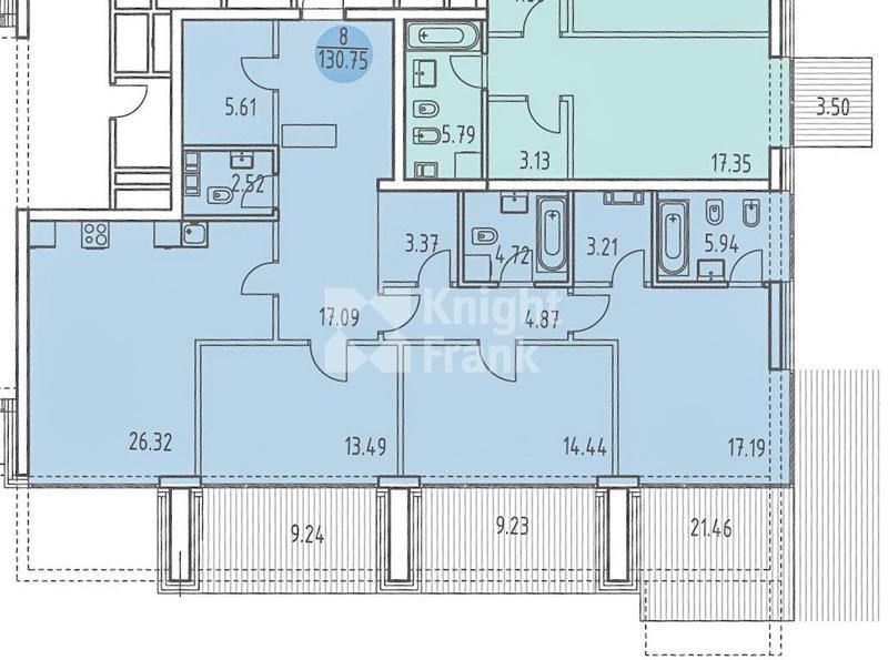 Квартира LEVEL Barvikha Residence, id hs9901786, фото 4