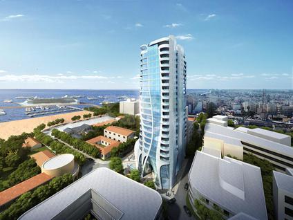 Новостройка Самый высокий комплекс апартаментов в Ларнаке, id ir1099, фото 3