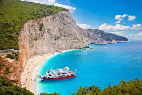 Отель/бутик-отель Отель 3* на побережье Ионического моря в Греции, id ir1217, фото 1