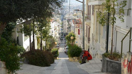 Офисное здание Здание в центре Афин в Греции, id ir1382, фото 1
