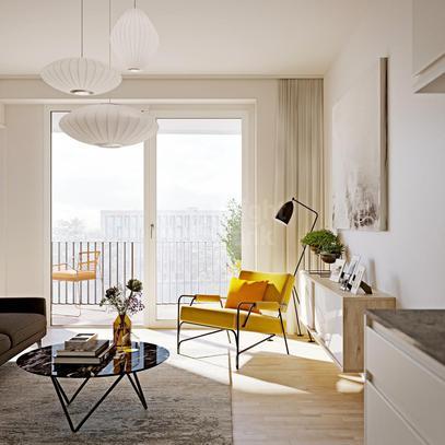 Квартира Квартира с 2 спальнями в Берлине, id ir1445, фото 2