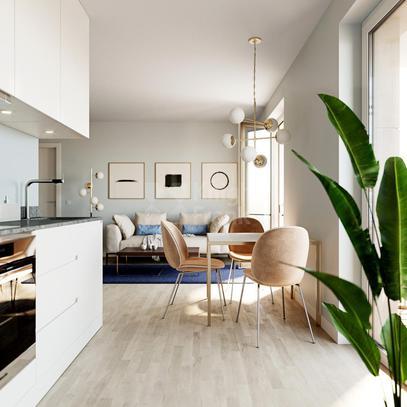 Квартира Квартира с 2 спальнями в Берлине, id ir1445, фото 1