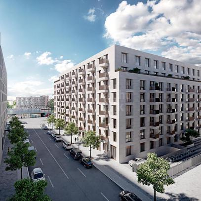 Девелоперский проект Блок квартир для инвесторов в Берлине, id ir1450, фото 1