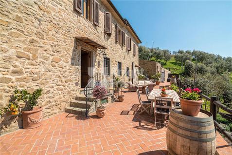 Дом Дом с панорамным видом в Тоскане, id ir1687, фото 1
