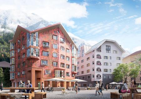 Новостройка Апартаменты в жилом комплексе на горнолыжном курорте, id ir1724, фото 1