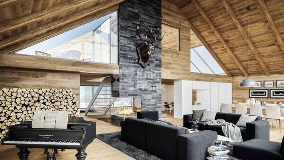Новостройка Шале на горнолыжном курорте в Андерматте, id ir1725, фото 2