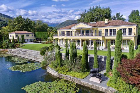Вилла Роскошное поместье на озере Лугано, id ir1816, фото 2