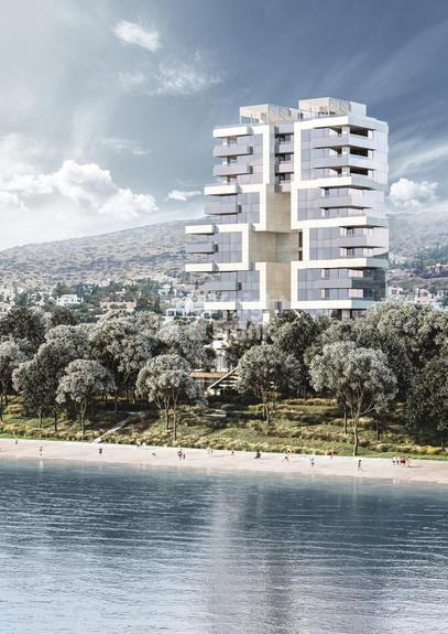 Апартаменты Эксклюзивные апартаменты в новом жилом комплексе на побережье Лимасола, id ir1822, фото 1