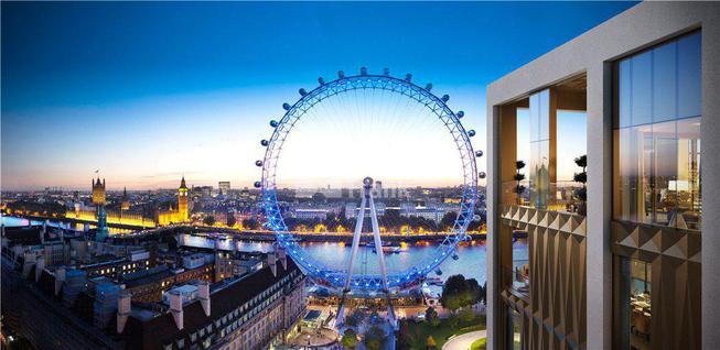 Новостройка Апартаменты с видом на Вестминстерский дворец в жилом комплексе на берегу Темзы в Лондоне, id ir1824, фото 1