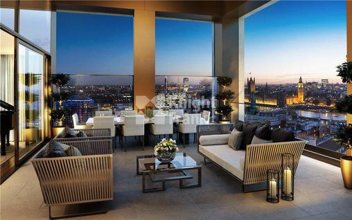 Новостройка Апартаменты с видом на Вестминстерский дворец в жилом комплексе на берегу Темзы в Лондоне, id ir1824, фото 2