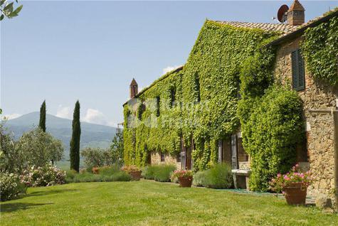 Вилла Поместье в уникальном месте в Тоскане, id ir1846, фото 1