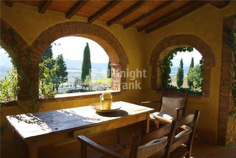 Вилла Поместье в уникальном месте в Тоскане, id ir1846, фото 4