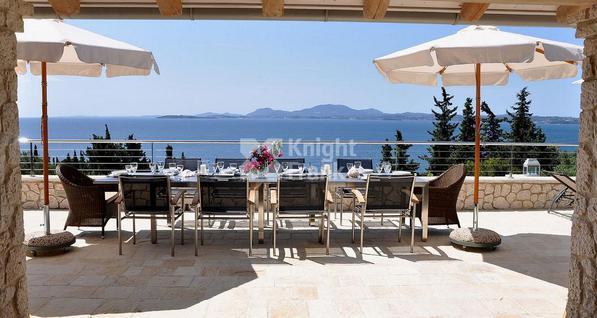 Вилла Дом с видом на море на о. Корфу в Греции, id ir1913, фото 3