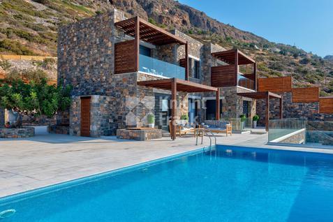 Вилла Роскошный дом на побережье на острове Крит в Греции, id ir1936, фото 1