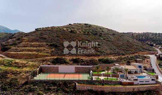 Вилла Роскошный дом с теннисным кортом на острове Крит в Греции, id ir1937, фото 2