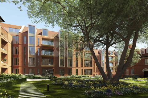 Редевелопмент Жилой комплекс в Хампстед в Лондоне, id ir375, фото 1
