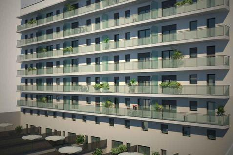 Новостройка Апартаменты в новом комплексе в центре Барселоны, id ir453, фото 1