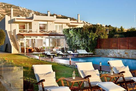 Вилла Вилла в современном стиле в Греции, id ir607, фото 1