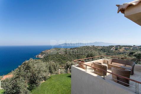 Вилла Вилла в средиземноморском стиле в Греции, id ir608, фото 3
