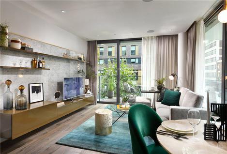Новостройка Современные квартиры в роскошном девелопменте в Лондоне, id ir61, фото 4