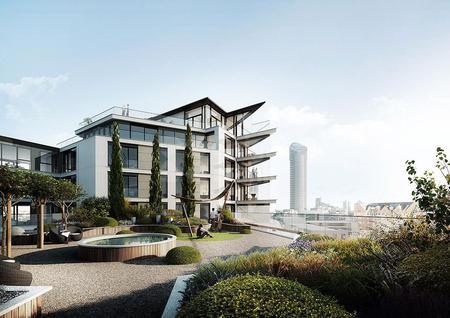 Новостройка Квартиры в уникальном девелопменте на берегу Темзы в Лондоне, id ir67, фото 3