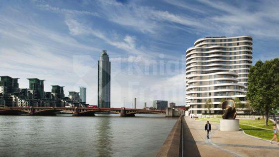 Новостройка Современные квартиры на берегу Темзы в Лондоне, id ir70, фото 1