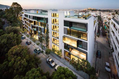 Новостройка Современный жилой комплекс в Греции, id ir755, фото 2