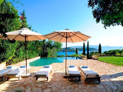 Вилла Вилла с частным пляжем в Греции, id ir760, фото 3
