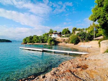 Вилла Вилла с частным пляжем в Греции, id ir760, фото 4