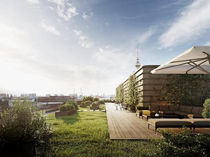 Девелоперский проект Блок квартир и коммерческих помещений для сдачи в аренду в Берлине, id ir854, фото 3