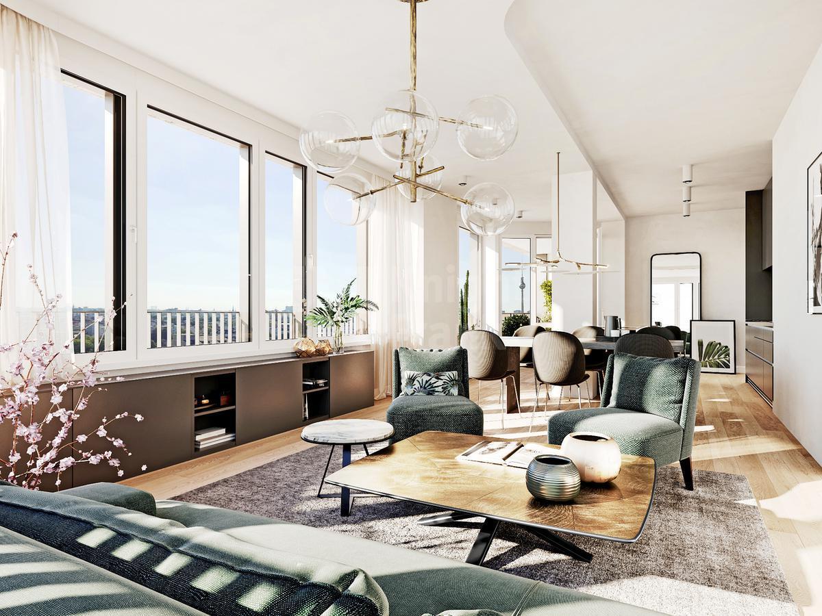 Девелоперский проект Блок квартир и коммерческих помещений для сдачи в аренду в Берлине, id ir854, фото 5