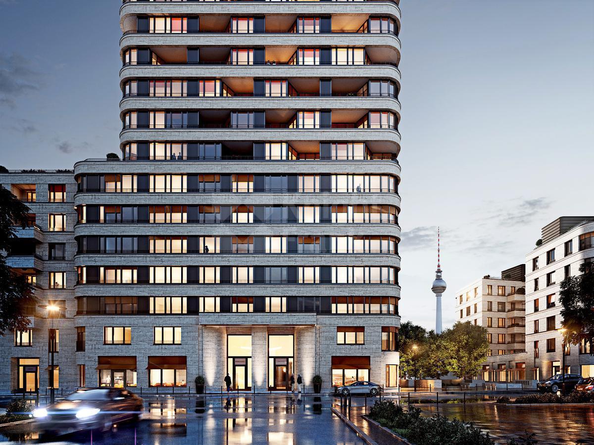 Девелоперский проект Блок квартир и коммерческих помещений для сдачи в аренду в Берлине, id ir854, фото 1