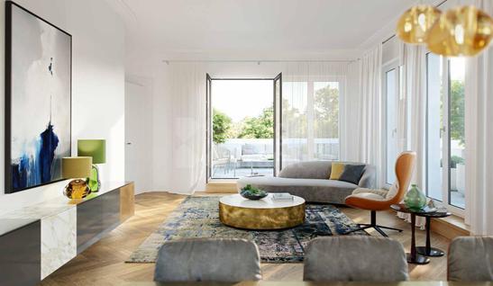 Апартаменты Квартира с 2 спальнями в Берлине, id ir877, фото 2