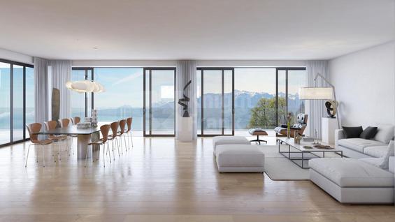 Апартаменты Апартаменты в новой резиденции на берегу Женевского озера, id ir932, фото 1
