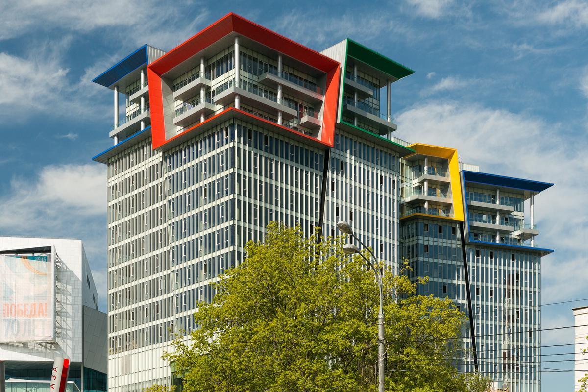 Многофункциональный комплекс Кунцево Плаза (Здание А), id id31962, фото 4