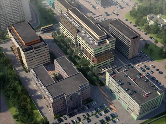Бизнес-парк Отрадный (Фаза II Здание Б), id id32203, фото 3