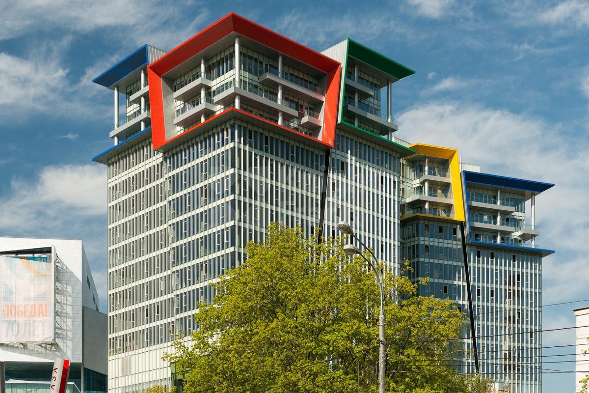 Многофункциональный комплекс Кунцево Плаза (Здание B), id id33986, фото 4