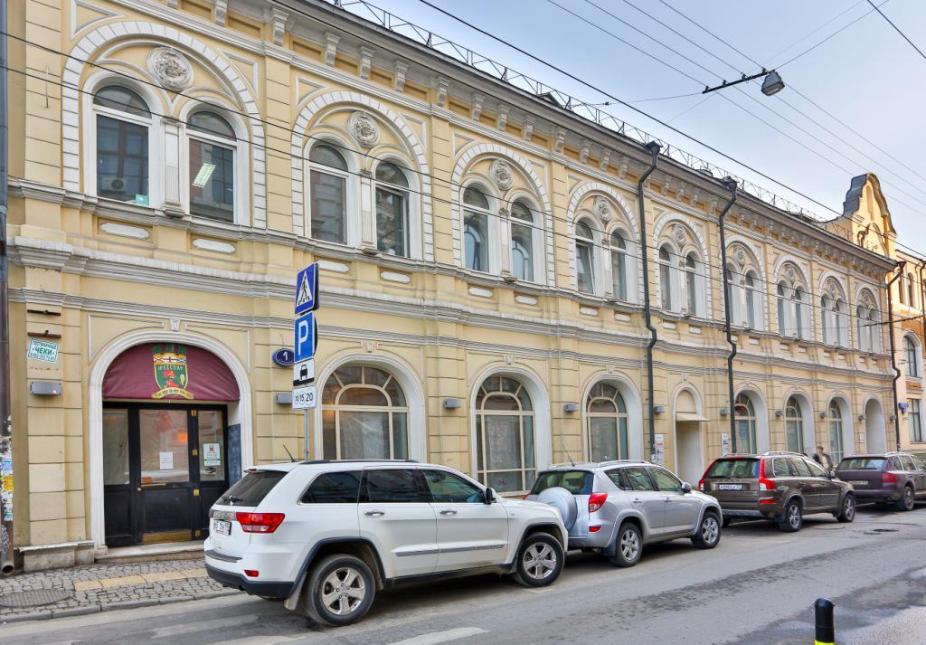 Особняк Большой Златоустинский переулок, 1стр1, id as22349, фото 1