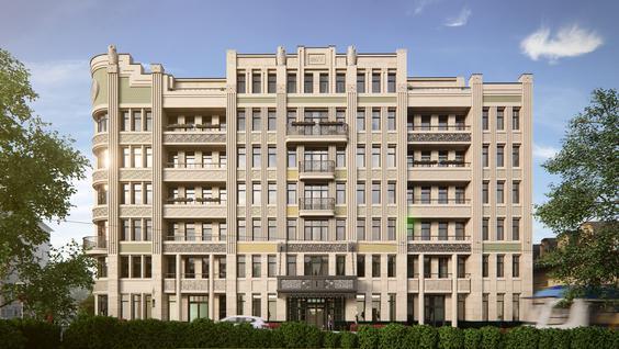 Новостройка Резиденция на Покровском бульваре, id id28451, фото 2
