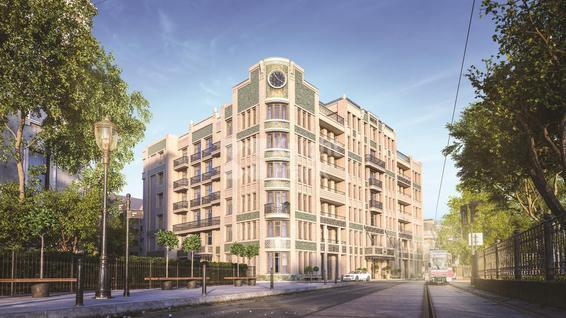 Апартаменты Резиденция на Покровском бульваре, id as37154, фото 2