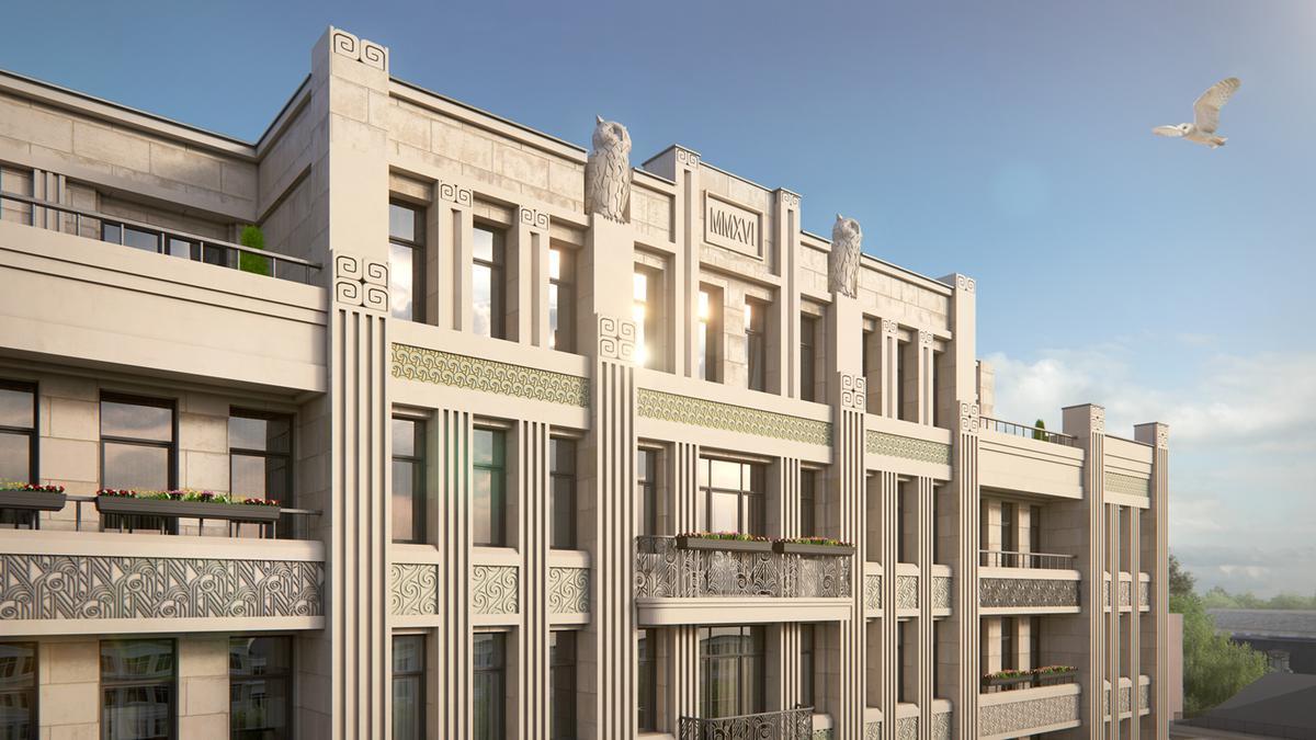 Апартаменты Резиденция на Покровском бульваре, id as29997, фото 3