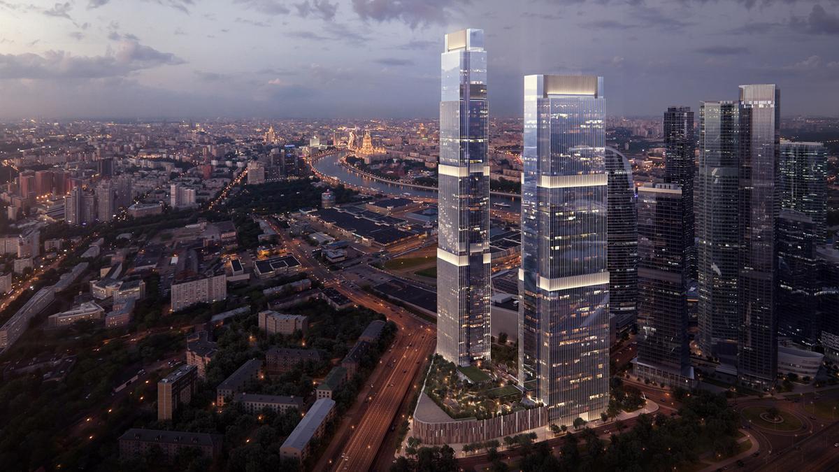 Апартаменты Neva Towers, id as33449, фото 1