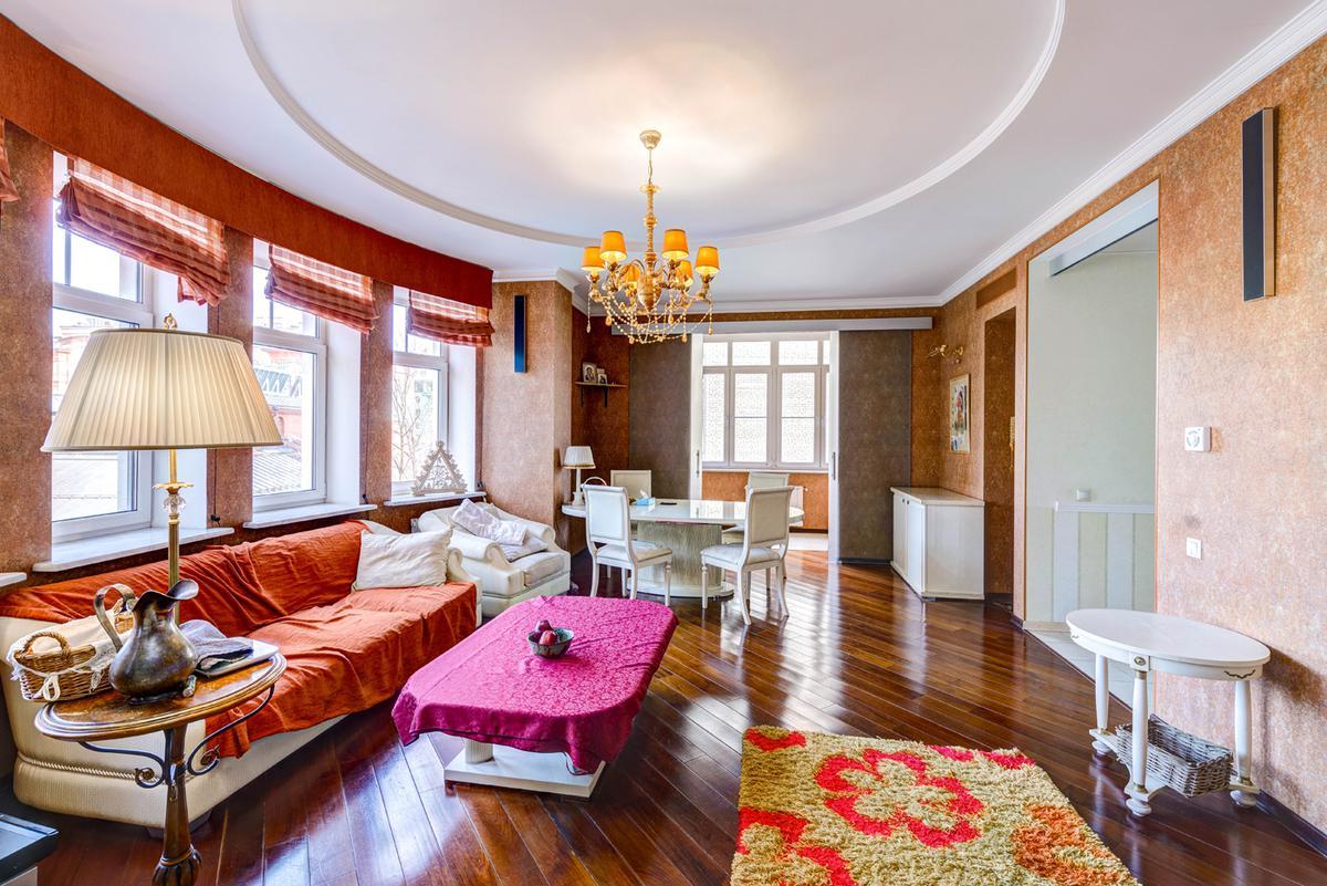 Квартира Малый Козихинский переулок, 14, id as33401, фото 1