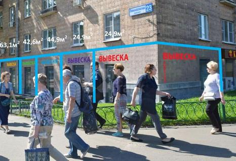 Стрит-ритейл Ломоносовский пр-т, д.23, id r124228, фото 1