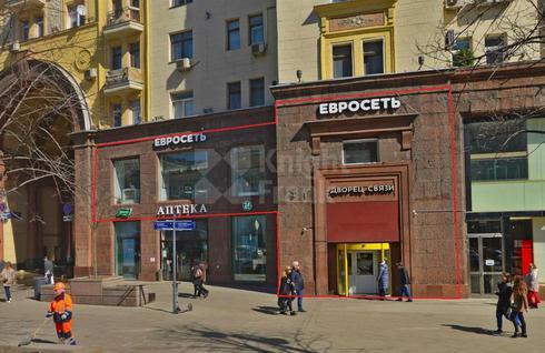 Стрит-ритейл Тверская, 4, id r124327, фото 1