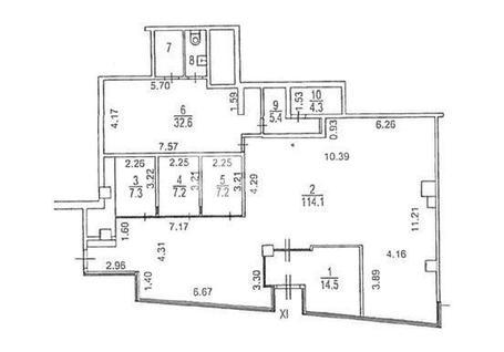 Торговое помещение БЦ Метрополис, id r124964, фото 2